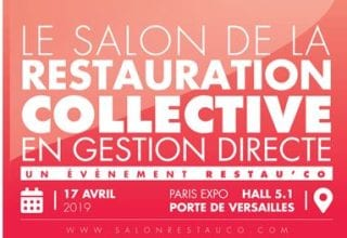 le salon de la restauration collective en gestion directe